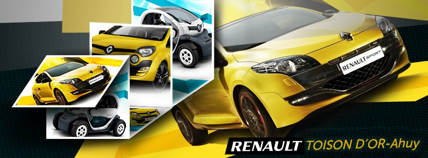logo de Renault toison d'or